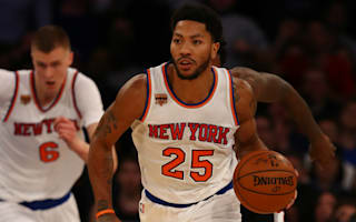 Rose stars as Knicks stay hot at home, Pelicans extend streak