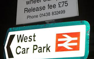Train firms hike car parking charges