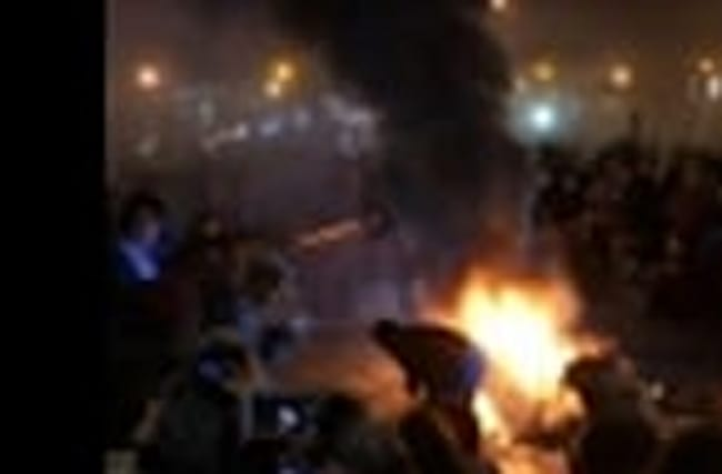 Protesters Start Fires on DC Streets