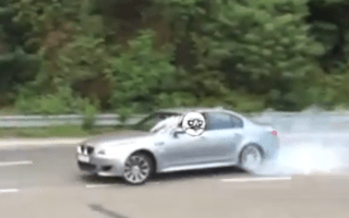 Video: How not to drive performance cars on public roads