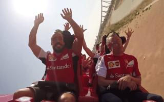 World's fastest roller coaster fails to impress Raikkonen