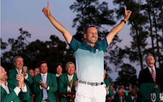 Masters winner Garcia still feels major motivation