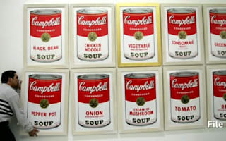 FBI offering $25,000 for stolen Warhol paintings