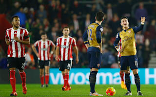 Arsenal v Southampton: Gunners seek to arrest stuttering title tilt