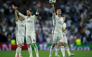 Ramos understands Ronaldo whistles