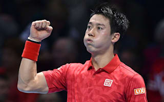 Nishikori trains sights on number three spot after Wawrinka win