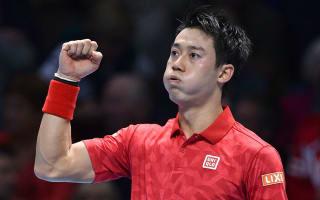 Nishikori trains sights on number three spot after Wawrinka win