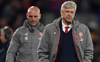 Wenger admits top four is 'massive challenge' for Arsenal