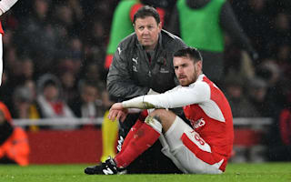 Ramsey calf strain adds to Wenger's woes