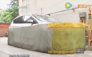 Chinese residents forced to make 'car skirts' to avoid rat infestation