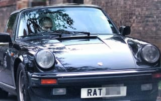 Hospital car park boss gets into Porsche with RAT plate