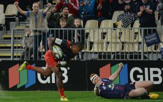 Super Rugby Notebook, May 6: Macilai hat-trick sends Crusaders top, Brumbies claim key win