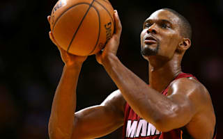 Heat star Bosh suffers setback