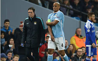 Kompany injury threatens City season with total collapse