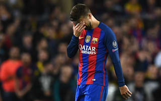 Injured Pique ruled out for three weeks