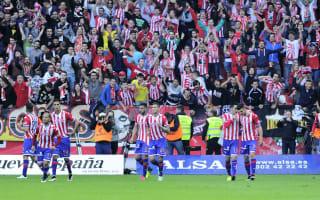 Barca boss Luis Enrique congratulates Sporting on survival