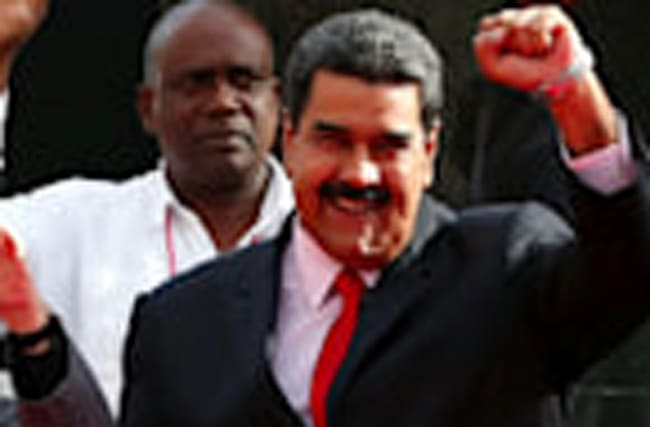 Venezuela's Maduro called 'dictator' after Congress stripped