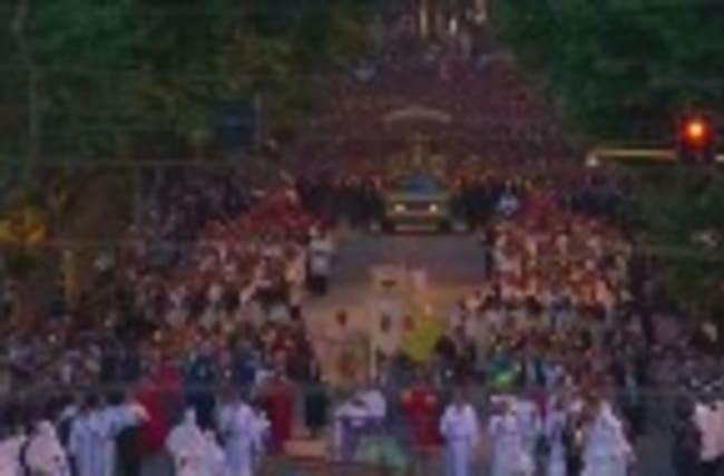 A procession in Rome