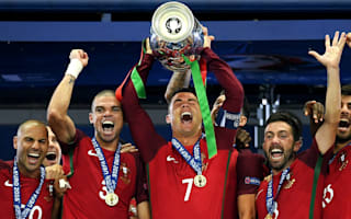 Ronaldo named Portugal's player of the year