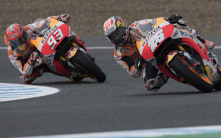 Pedrosa wins Jerez qualifying battle with Marquez