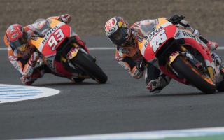 Pedrosa wins Jerez qualifying battle with Marquez