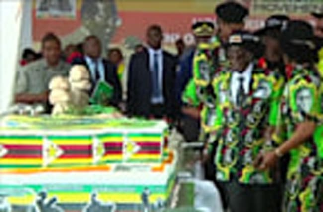 Zimbabwe's Mugabe celebrates 93rd birthday