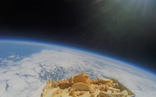 Chippy sends fish and chips into space