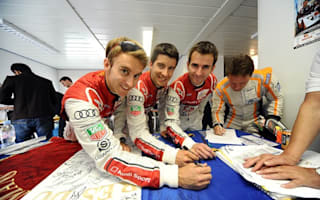Le Mans flag auctioned to raise funds for Japan