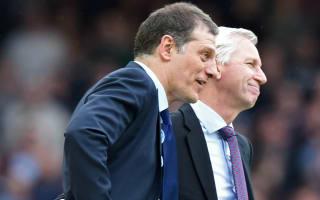 Pardew: Don't blame Bilic for West Ham slump