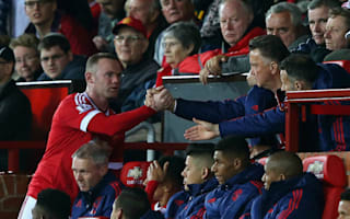 Van Gaal admits Rashford is forcing Rooney into deep role