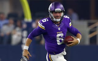 Vikings quarterback severed tendon putting foot through window