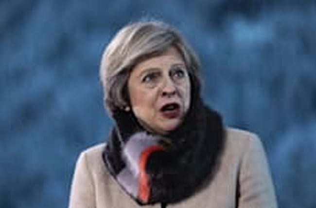 May insists she's not 'afraid' to stand up to Donald Trump