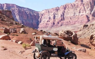 A Dutch couple are driving a 100-year-old Ford Model T around the world