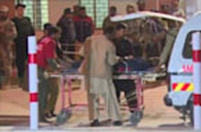 Forty eight killed in Pakistan police academy attack