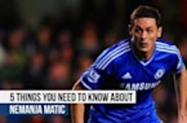 Nemanja Matic - 5 things you need to know