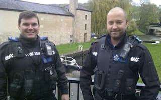 Police in 'Hot Fuzz' goose chase in Somerset