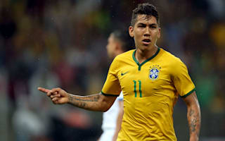 Firmino replaces Kaka for Brazil