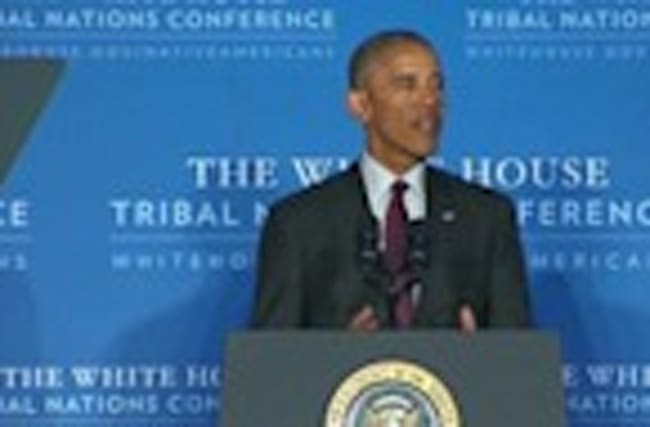 "Obama to Tribal Nations: ""I hope I've done right by you"""