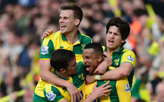 Norwich City 3 Newcastle United 2: Late Olsson strike seals dramatic win