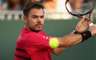 Wawrinka beaten on birthday as Federer, Nadal progress