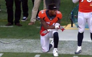 Broncos' Marshall kneels during national anthem