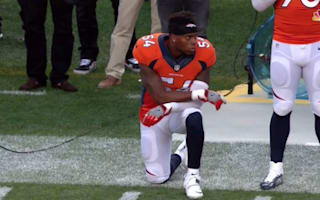 Broncos' Marshall kneels during national anthem