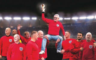 Car dealers recreate iconic 1966 World Cup pics