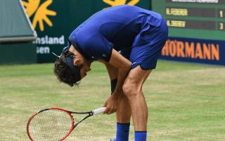 Federer pleased with progress despite Zverev defeat