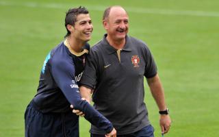 Scolari swoons over 'spectacular' Ronaldo