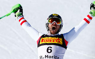 Hirscher completes rare double with slalom success
