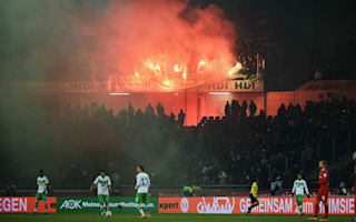 Allofs condemns flare incident