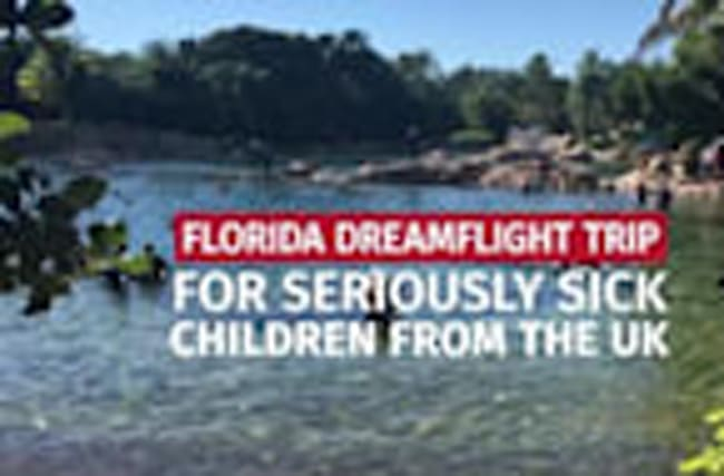 Sick children conquer fears on dream trip to Sunshine State