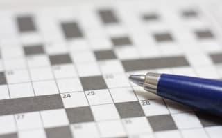 Museum visitor fills in crossword - damaging artwork