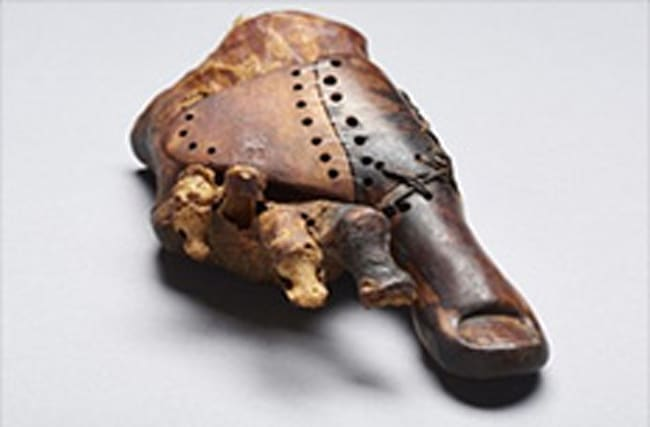 Archaeologists have unearthed a 3,000-year-old wooden toe